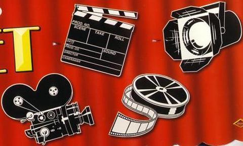 Theme In A Box Hollywood Theme Movie Set Cutouts